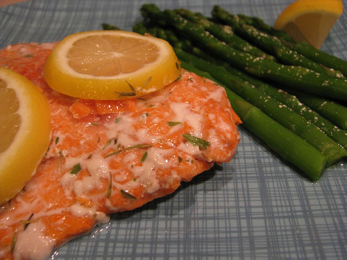 Crockpot Poached Salmon